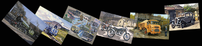 Paul Atchinson - Heritage Transport Artist 	- Paintings and Prints of Transport Subjects
